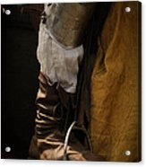 Medieval Faire Boot Detail 2 Acrylic Print