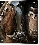 Medieval Faire Boot Detail 3 Acrylic Print