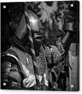 Medieval Faire Knight's Victory 1 Acrylic Print