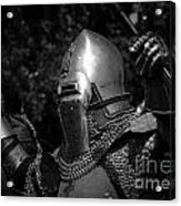 Medieval Faire Knight's Victory 2 Acrylic Print