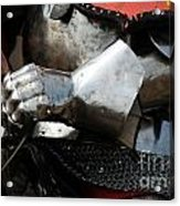 Medieval Faire Ready To Ride Acrylic Print
