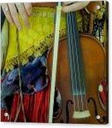 Medieval Gypsy Acrylic Print