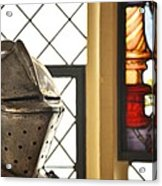 Medieval Helmet Acrylic Print