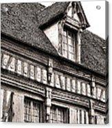 Medieval House Acrylic Print