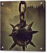 Medieval Spike Ball  Acrylic Print