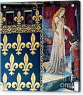 Medieval Tapestry Acrylic Print by France  Art