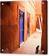 Medina Of Marrakesh Acrylic Print