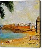 Medina Of Tetouan Acrylic Print by Catf