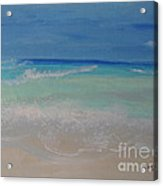 Meditate By The Sea 1 Acrylic Print