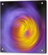 Meditation - Abstract Energy Art By Sharon Cummings Acrylic Print