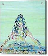 Meditation Blues Acrylic Print