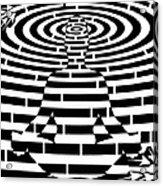 Meditation Maze  Acrylic Print
