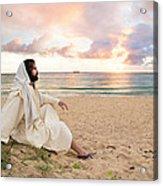 Meditation Of Christ Acrylic Print