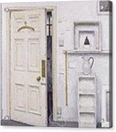 Meditation On A Door I Acrylic Print by Charles E Hardaker