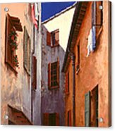 Mediterranean Blue Acrylic Print