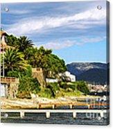 Mediterranean Coast Of French Riviera Acrylic Print