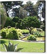 Mediterranean Garden - Cote D Azur Acrylic Print