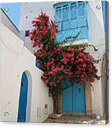 Mediterranean House Acrylic Print