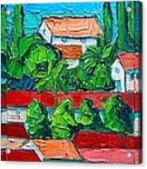 Mediterranean Roofs 2 3 4 Acrylic Print