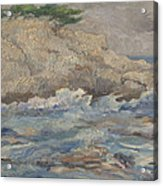 Mediterranean Sea Rocks Acrylic Print