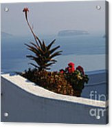 Mediterranean Views Acrylic Print