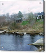 Medomak River, Waldoboro,maine Acrylic Print