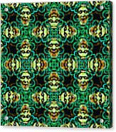 Medusa Abstract 20130131p38 Acrylic Print by Wingsdomain Art and Photography