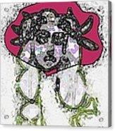 Medusa Looking Through Acrylic Print