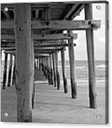 Meet Me Under The Pier. Acrylic Print