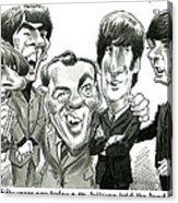 Meet the Beatles Acrylic Print