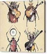 Meet The Beetles Acrylic Print