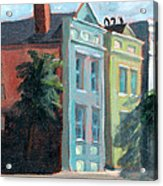 Meeting Street Charleston South Carolina Acrylic Print