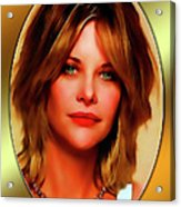 Meg Ryan Acrylic Print