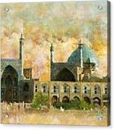 Meidan Emam Esfahan Acrylic Print