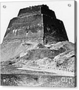 Meidum Pyramid, 1879 Acrylic Print by Science Source