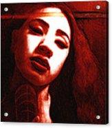 Meisi 2 Acrylic Print by Teleita Alusa