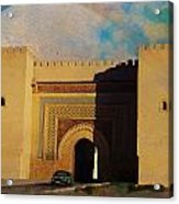 Meknes Acrylic Print by Catf