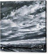 Melancholia Mountains And Even More Mountains Acrylic Print