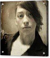 Melancholy Mattie Acrylic Print