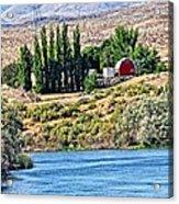 Melba Idaho Acrylic Print
