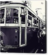 Old Tram In Melbourne Acrylic Print