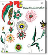 Mele Kalikimaka Acrylic Print
