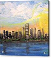 Melisa's Sunrise Acrylic Print