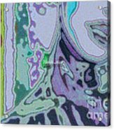 Mellody-blue Acrylic Print