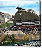 Mellon Arena Partially Deconstructed Acrylic Print