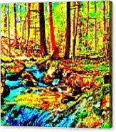 Mellow Yellow 86 Acrylic Print