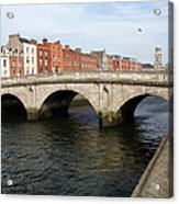 Mellows Bridge In Dublin Acrylic Print