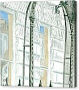 Mellvile Street Doorway Acrylic Print