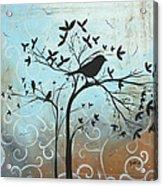 Melodic Dreams By Madart Acrylic Print