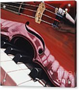 Melodic Reflections Acrylic Print